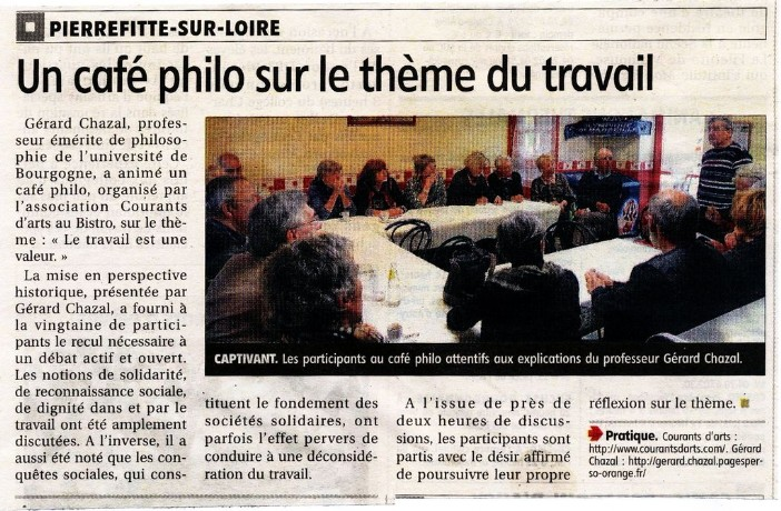 Café philo à Pierrefitte